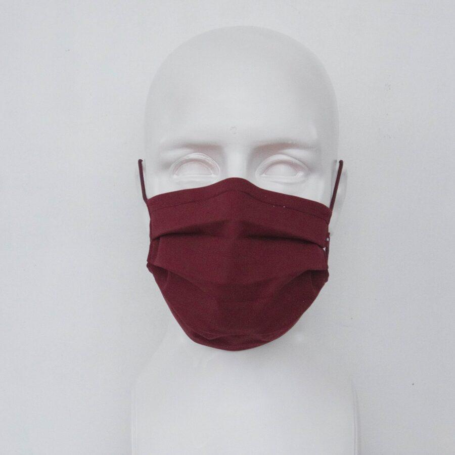 Bordo sejas maska ar Latvijas karodziņu
