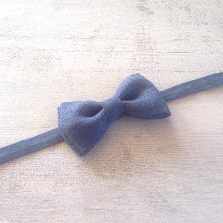 Zils lina tauriņš