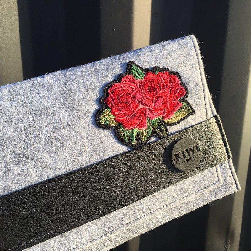 """Filca somiņa """"Ziedi"""""""