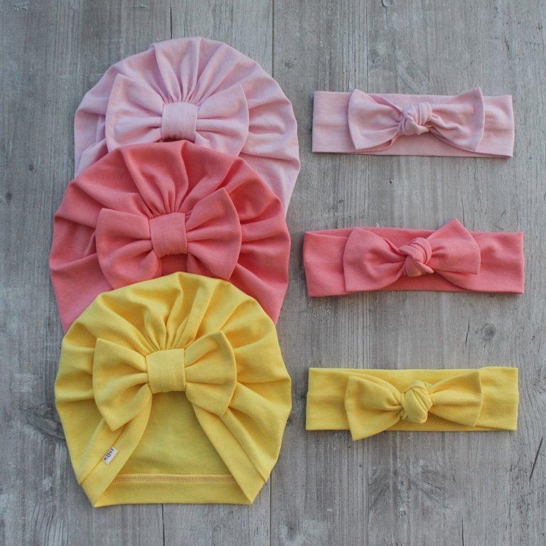 Dzeltena turbāncepure