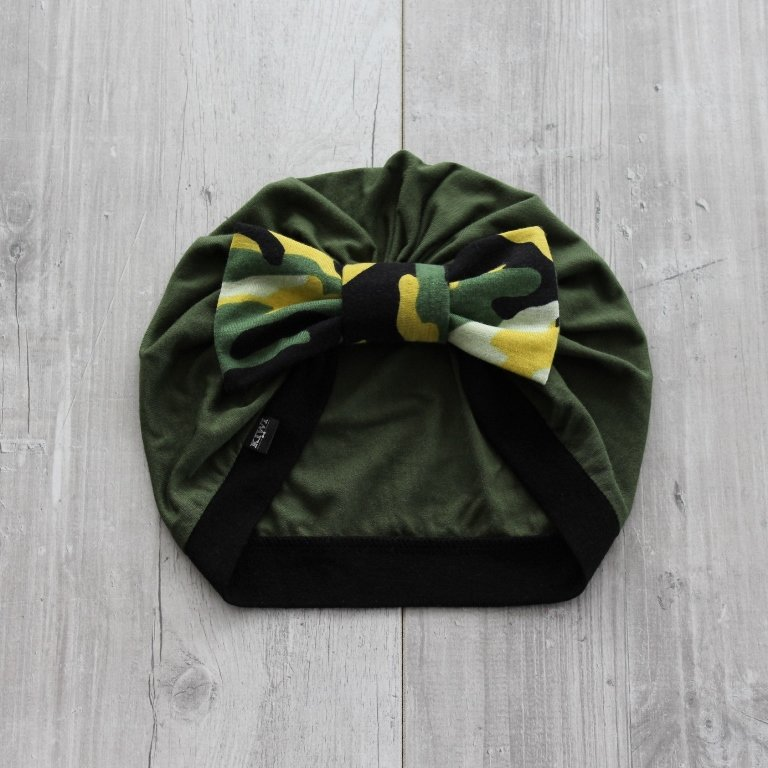 Kamuflāžas turbāncepure