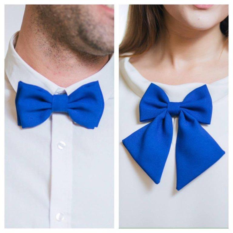 Zils komplekts pārim