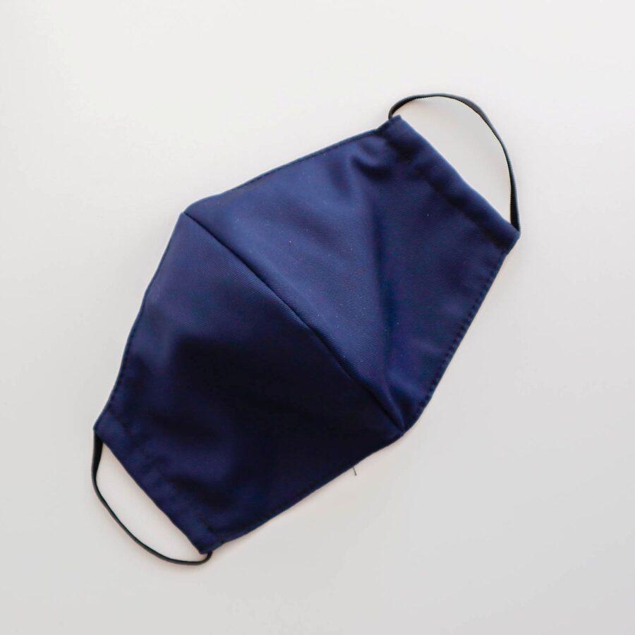 Tumši zilas pieaugušo un bērnu sejas maskas (bez ielocēm)