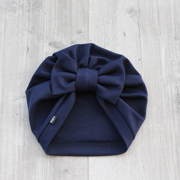Tumši zila turbāncepure