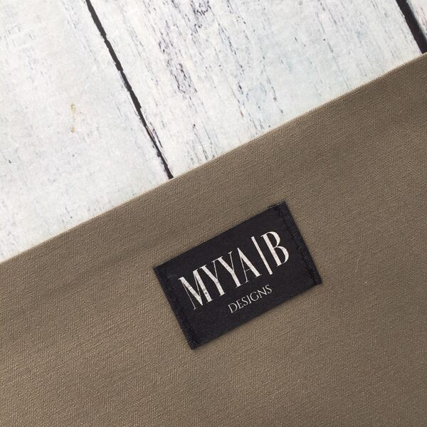 Melnas birkas ar personalizētu druku