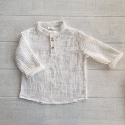 Balts muslīna krekls