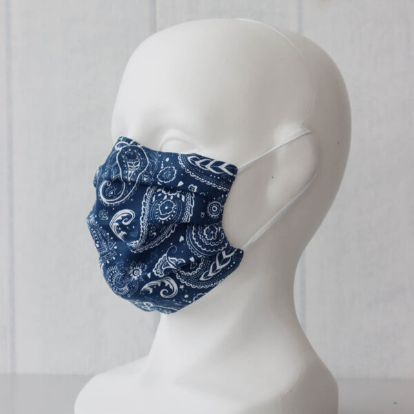 Zili raiba- pieaugušo/bērnu sejas maska
